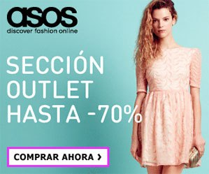 Hasta -70% en ASOS Outlet