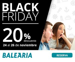 Black Friday en Balearia