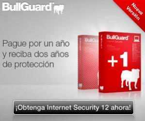 Oferta de BullGuard Internet Security