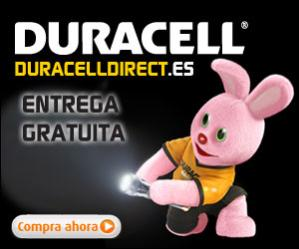 Ahorre hasta un  30%  en Duracell Direct