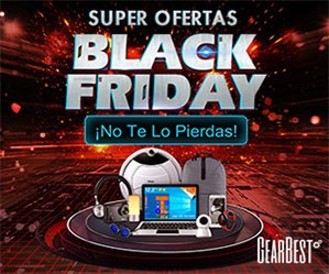 Super ofertas Black Friday en GearBest