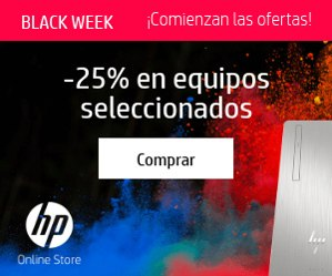 Black Week de HP Store