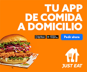 Oferta Just-Eat: 5 euros de comida GRATIS