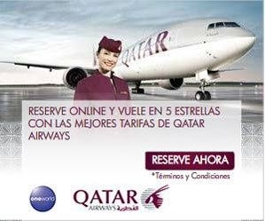 Ofertas de otoño de Qatar Airways