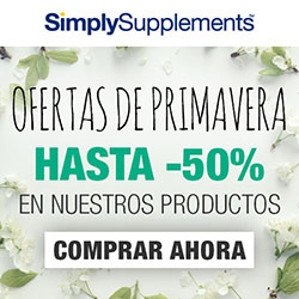 Oferta de Primavera de Simply Supplements