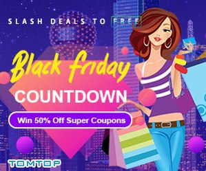 Oferta Black Friday de TomTop